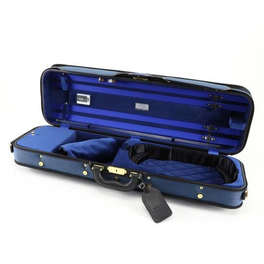 WINTER 3024 Super Light - vioolkoffer blauw  / blauw