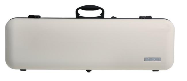 Gewa Vioolkoffer Air 2.1, hoogglans beige