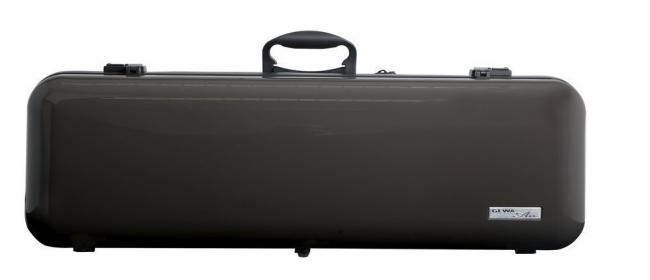 Gewa Vioolkoffer Air 2.1, bruin hoogglans