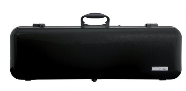 Gewa Vioolkoffer Air 2.1, zwart metallic hoogglans