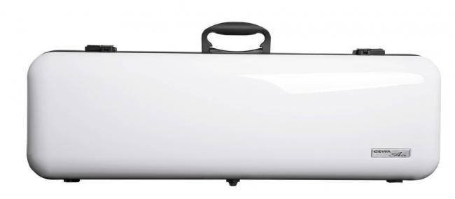 Gewa Vioolkoffer Air 2.1, wit hoogglans