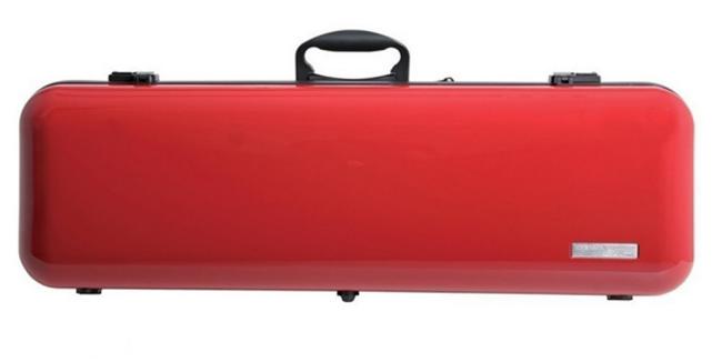 Gewa Vioolkoffer Air 2.1, hoogglans rood