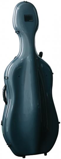 GEWA IDEA X-Lite 3.9 cellokoffer - platina/bordeaux
