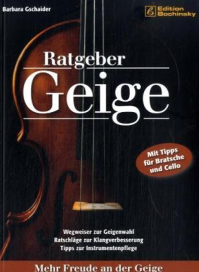 Ratgeber Geige - Edition Bochinsky