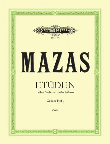 Mazas, Etüden Op. 36, Heft 2