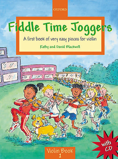 Fiddle Time Joggers met CD