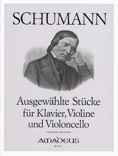 Schumann, Ausgewählte Stücke für Klaviertrio