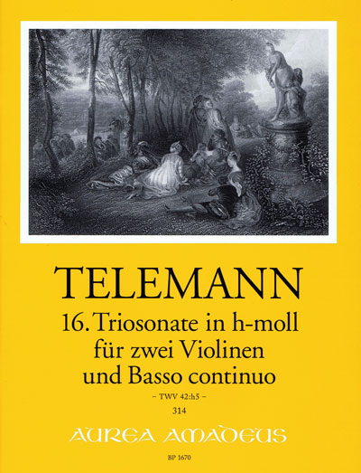 Telemann, 16. Triosonate in h-moll