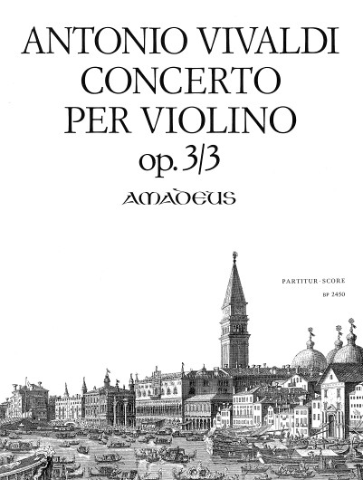 Vivaldi,Konzert G-Dur op. 3/3 RV 310