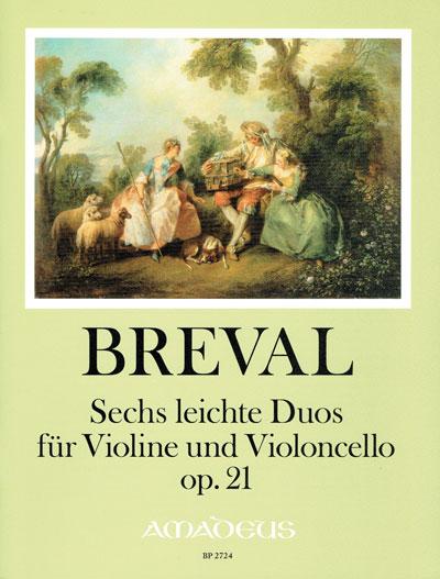 Bréval, Sechs leichte Duos op. 21
