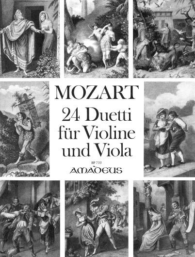 Mozart, 24 Duetti für Violine & Viola