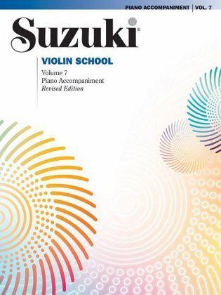 Suzuki methode viool, pianobegeleiding Boek 7