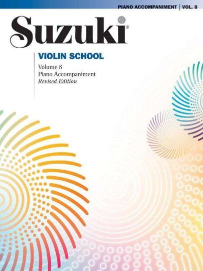 Suzuki methode viool, pianobegeleiding Boek 8