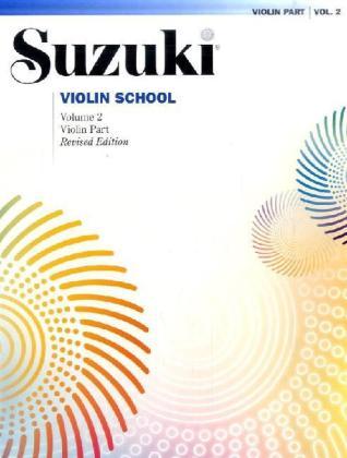 Suzuki methode viool, Boek 2