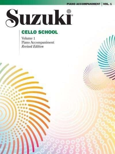 Suzuki methode Cello pianobegeleiding Boek 1