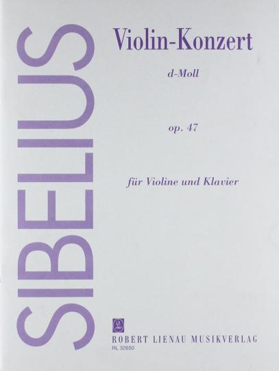 Sibelius, Violin-Konzert d-Moll, op. 47