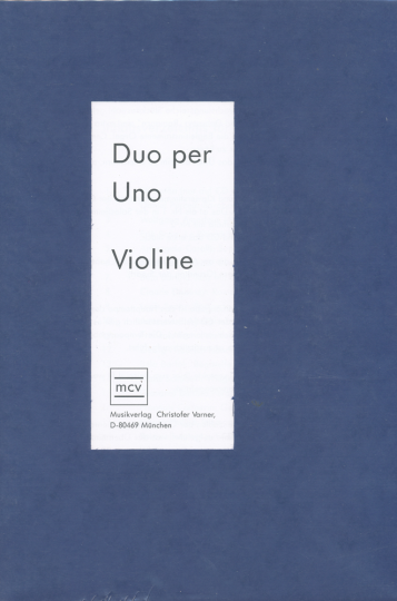 Duo per uno Violin