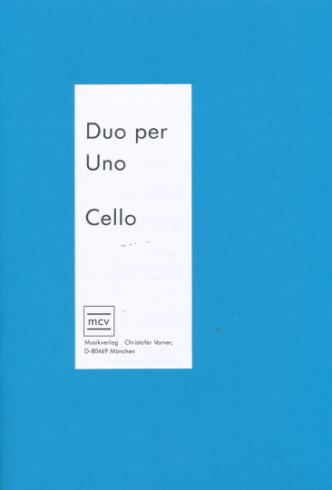 Duo per uno Cello