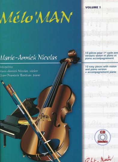Marie-Annick Nicolas, Melo' Man en  CD, Volume 1