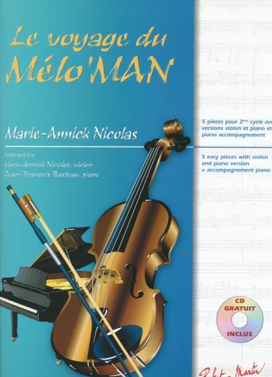 Marie-Annick Nicolas, Le voyage du Melo'Man, Volume 2