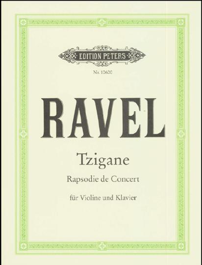 M. Ravel, Tzigane, Rapsodie de Concert