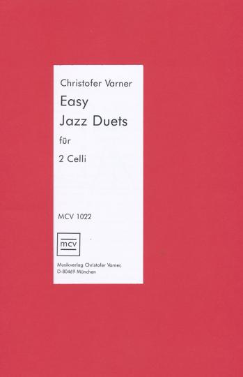 Varner, *1960 Easy Jazzduets voor 2 celli