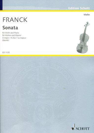 Franck, Sonata, A-Dur