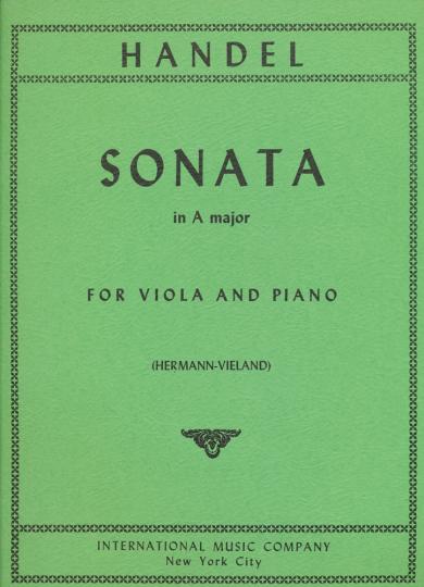 Händel, Sonate A-dur