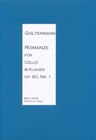 Georg Goltermann, 1824-1898, romance voor cello