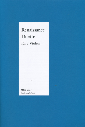 Renaissanceduette Morley, Sweelinck, Orlando di Lasso