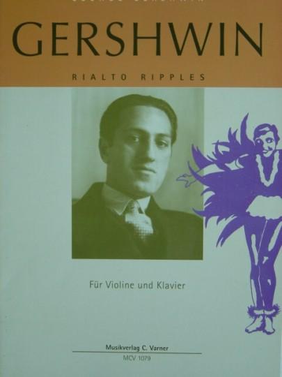 Bladmuziek- George Gershwin, Rialto Ripples
