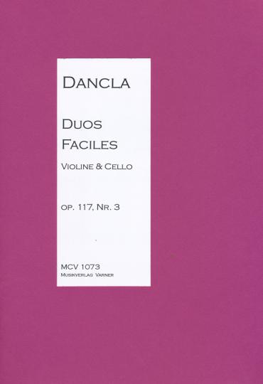 Duo voor viool en cello, Charles Dancla, 1717-1809 -