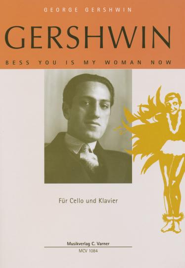 Bladmuziek- Gershwin, Bess you is my woman now, voor Violoncello en piano