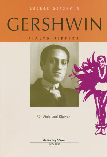 George Gershwin Rialto Ripples voor altviool en piano