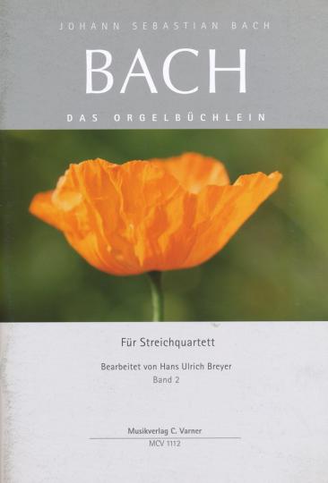 Johann Seb. Bach Orgelbüchlein Band 3 voor strijkkwartet