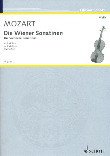 Mozart, Die Wiener Sonatinen