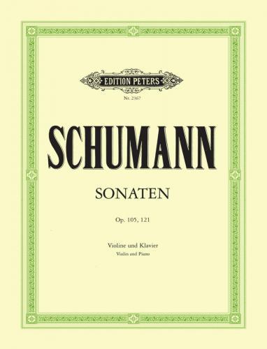 Schumann , Sonate op. 105 / Sonate op. 121