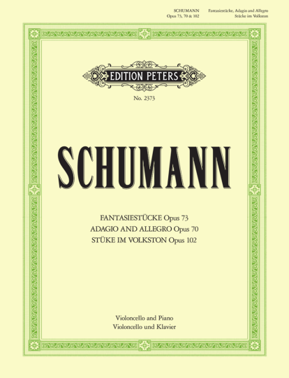 Schumann, Fantasiestücke op. 73 / Adagio und Allegro op. 70 / Stücke im Volkston op. 102