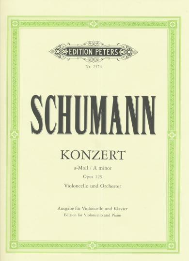 Schumann, Konzert a-Moll, Opus 129