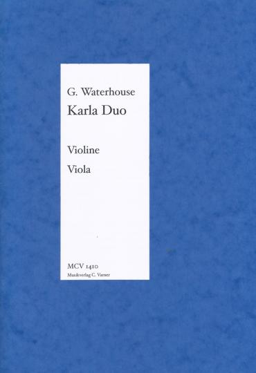 Graham Waterhouse, Karla Duo voor viool/viola