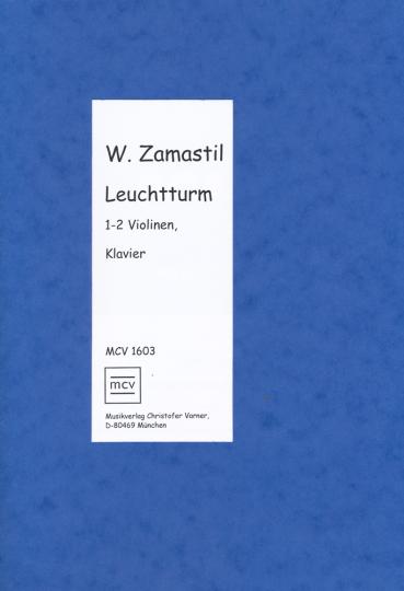 Leuchtturm Wolfgang Zamastil, *1981 voor 2 violen en piano