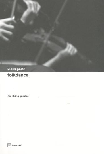 Klaus Paier, folkdance voor strijkkwartet