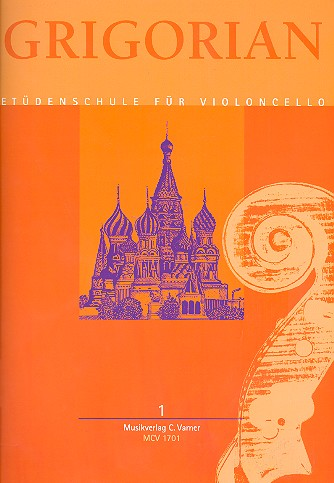 Levon & David Grigorian, etudes, verzamelbundel voor violoncello, deel 1