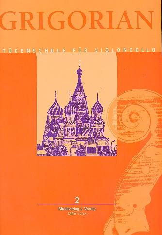 Levon & David Grigorian, etudes, verzamelbundel voor violoncello, deel 2