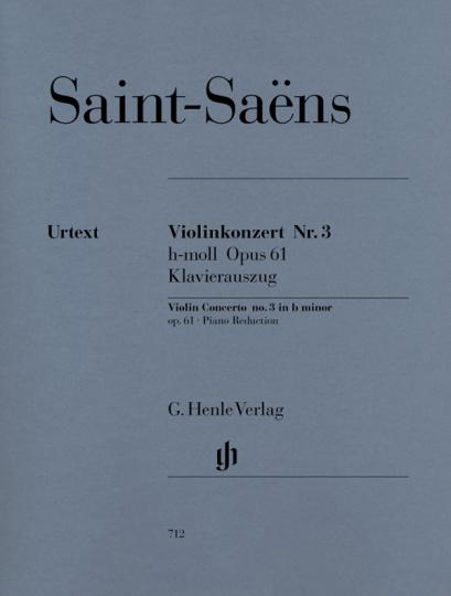 Saint-Saëns, Violinkonzert Nr. 3 h-moll op. 61
