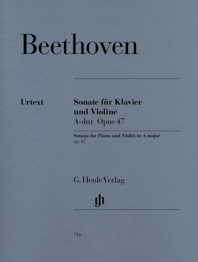 Beethoven, Sonate für Violine und Klavier, A-dur Opus 47