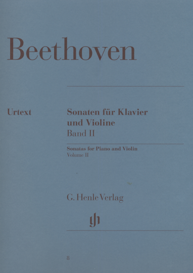 Beethoven, Sonaten voor piano en viool, Band II