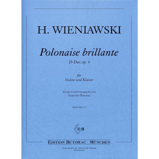 H. Wieniawski, Polonaise brillante 1, D-Dur, op. 4