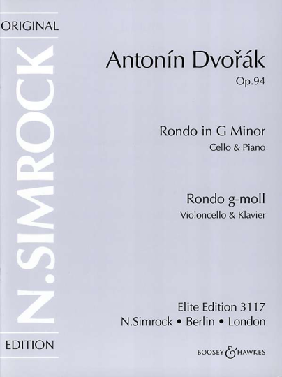 Dvorák, Rondo in G Minor, Op. 94