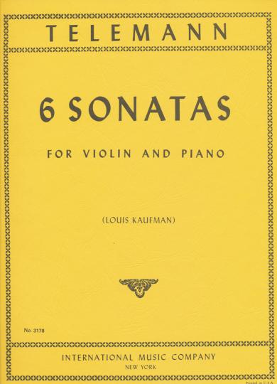 Telemann, 6 Sonaten